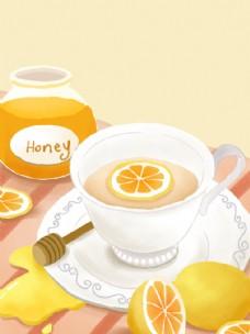 蜂蜜蜜柚子茶