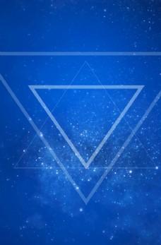 倒三角背景