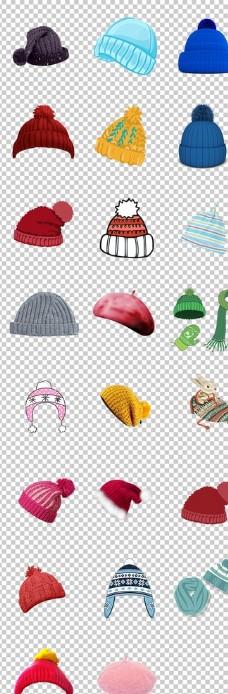帽子冬季毛线针织帽子保暖物品实