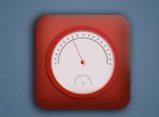 UI界面设计 温度计图标
