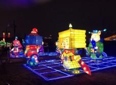 西安2019灯展 灯会 猪
