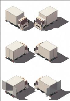 立体小货车