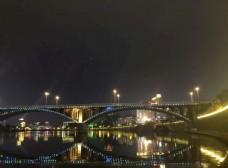 内江夜景西林大桥