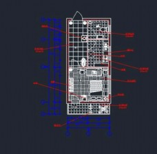 cad房屋平面图