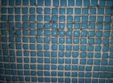 蓝色马赛克墙面纹理