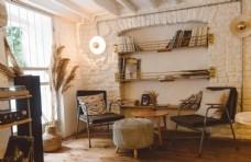 公寓温馨住宅书架卧室