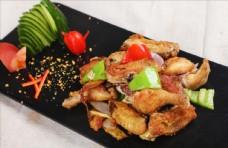 沙姜盐焗鸡