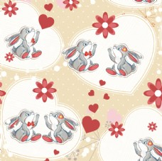可爱小兔情侣