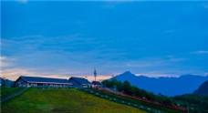 四川西岭雪山风景