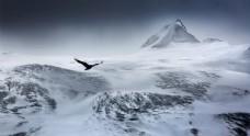 壮丽唯美高清雪山风景