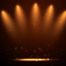 创意舞台背景图