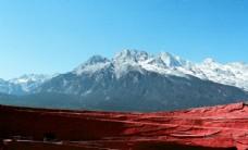 云南玉龙雪山风景