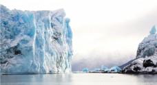 冬季冰山雪景
