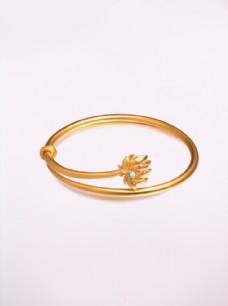 黄金手镯 珠宝 首饰