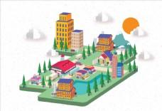 立体城市建筑