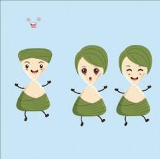 粽子卡通人形