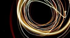 炫彩线圈背景图