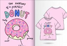 甜甜圈图案