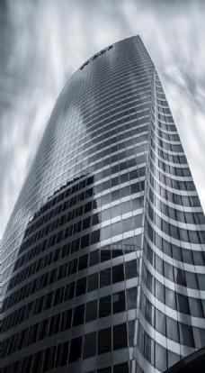 建筑 黑白建筑 高楼 大厦