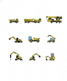 工程机器挖掘机