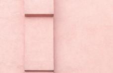 粉色墙壁背景图