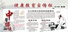 中医健康教育宣传栏