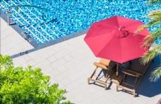 游泳池遮阳伞