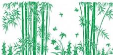 竹子竹叶背景客厅墙面艺术画