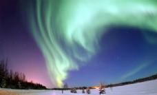 绚丽唯美的极光自然奇观