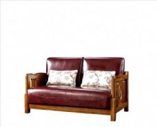 真皮沙发 实木沙发