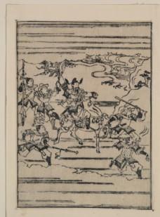 菱川师宣浮世绘作品