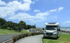 新西兰卡瓦卡瓦贝海滨风景