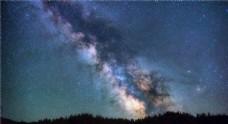 灿烂的夜晚星空