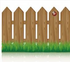 木头围栏田园乡村风格