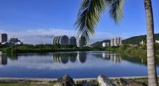 三亚城市风景摄影