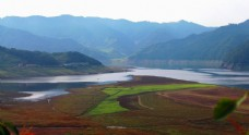 丹东绿江村风景