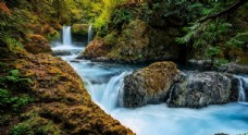 小清新溪流风景摄影