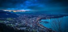蓝色海岛城市