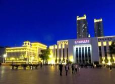 哈尔滨城市夜景