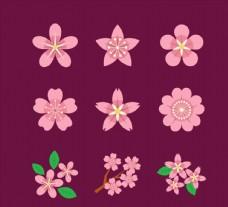 粉色樱花图标