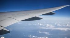 飞机上看云层