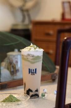抹茶豆腐烧仙草