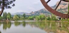 风景区 湖水