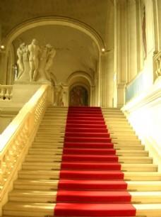 迎宾红地毯 奖杯 展厅模版