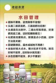 稻田农业农药海报