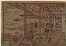 西村重长浮世绘作品