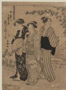 胜川春潮浮世绘作品