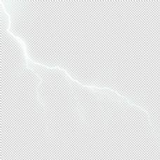 闪电免抠素材