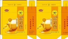 土蜂蜜包装盒