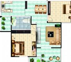 家居户型图
